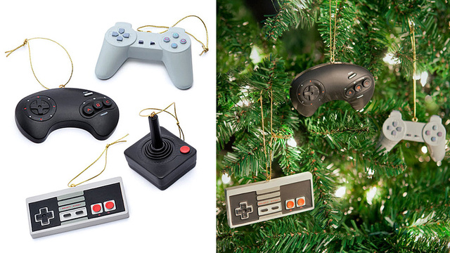 Classic Controller Ornaments Will 1-Up Your Holiday Spirit