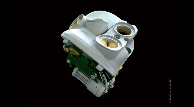 Space technology company builds a functioning artificial heart