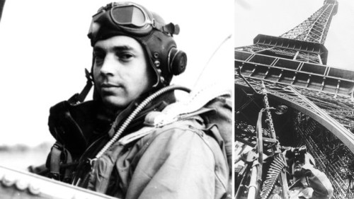This Man Chased A Nazi Fighter Plane Under The Eiffel Tower