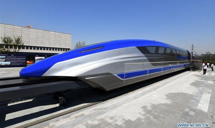 Chine train maglev.
