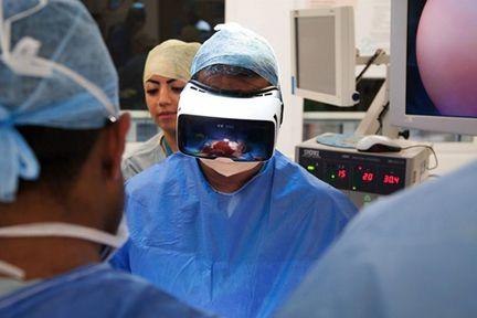 réalité virtuelle opération