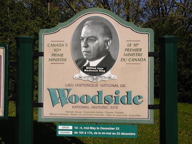 """CNHS - """"WOODSIDE NATIONAL HISTORIC SITE"""" - Kitchener - Ontario - Canadian  National Historic Sites on Waymarking.com"""
