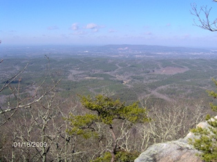 A dandy view from Bald Rock.