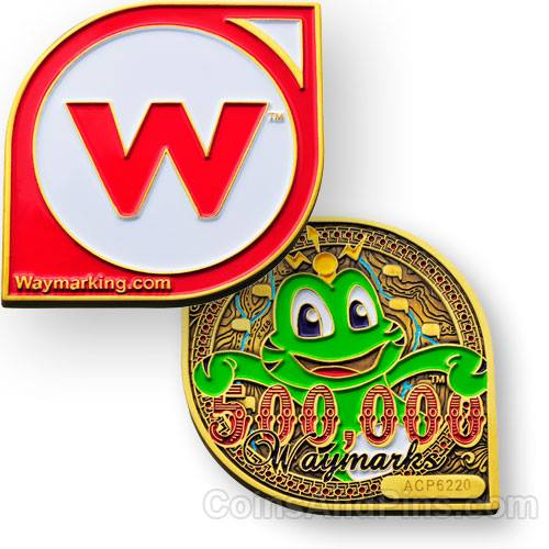 Waymarking-Geocoin