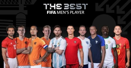 Messi, Ronaldo, Van Dijk Top List As FIFA Releases Best Player Nominees