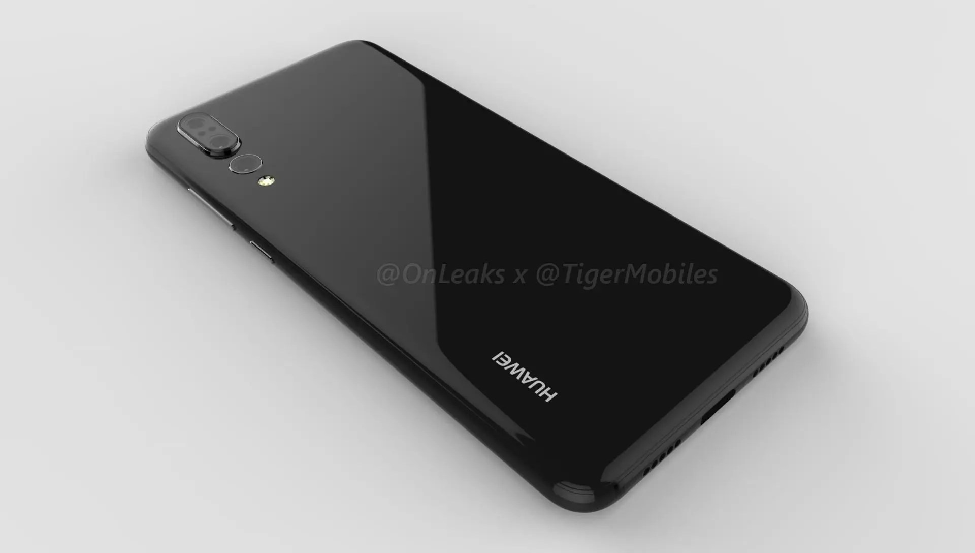 Huawei P20 Plus Cad Renders All But Confirm Triple Camera