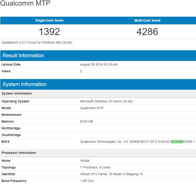 Snapdragon 8180 aparece no Geekbench e é melhor que o SD850 1