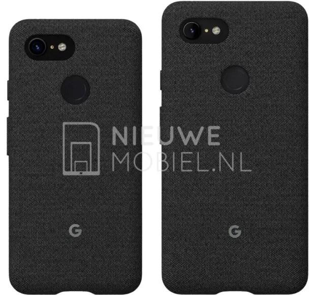 O Google Pixel 3 e 3 XL mostram-se em render de imprensa 2