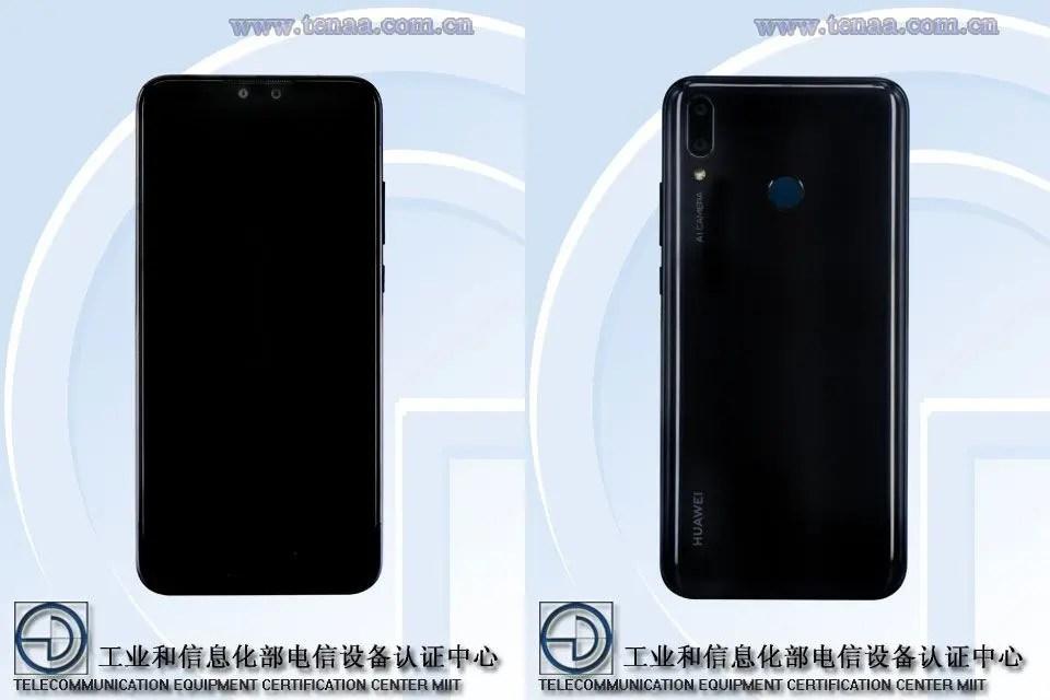 Huawei Y9 (2019) na TENAA revela uma variante Honor 8X mais poderosa 1