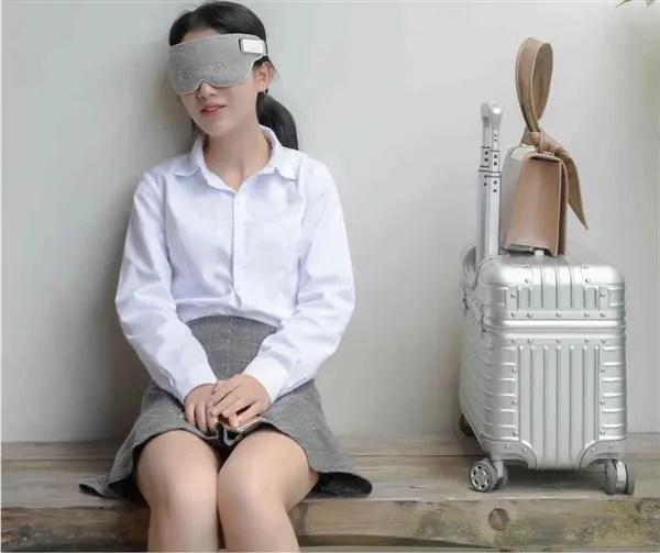 Máscara para dormir que lê ondas cerebrais da Xiaomi lançada por 249 Yuan (US $ 36) 1