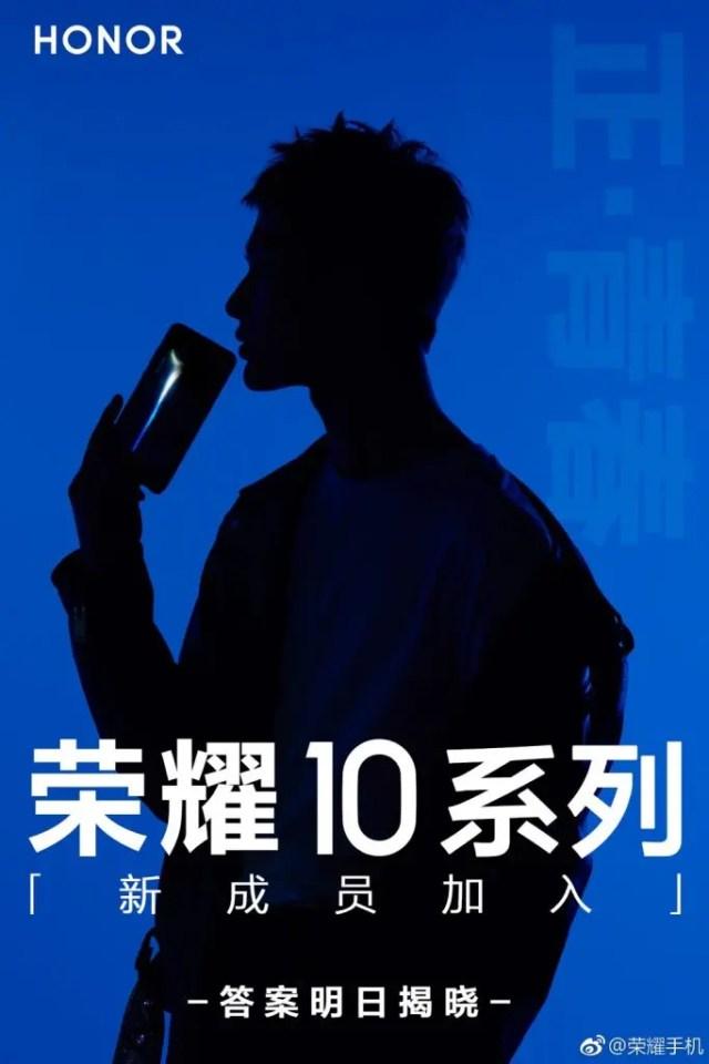Série Honor 10 terá um novo smartphone amanhã 1