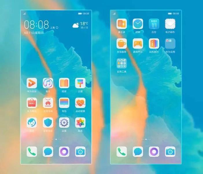 Façam o Download papéis de parede gratuitos para Huawei P30 e P30 Pro e temas do EMUI 9 3