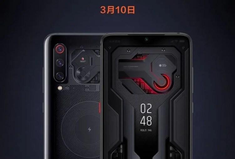 Xiaomi Mi 9 Edição Transparente