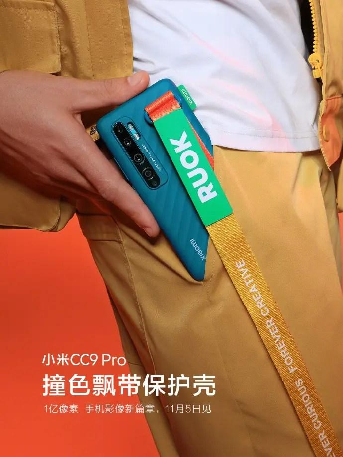 O Xiaomi CC9 Pro será lançado com a capa protetora RUOK 2