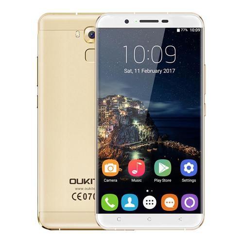 Oukitel U16 MAX 6.0 Inch 3GB 32GB Smartphone - Gold