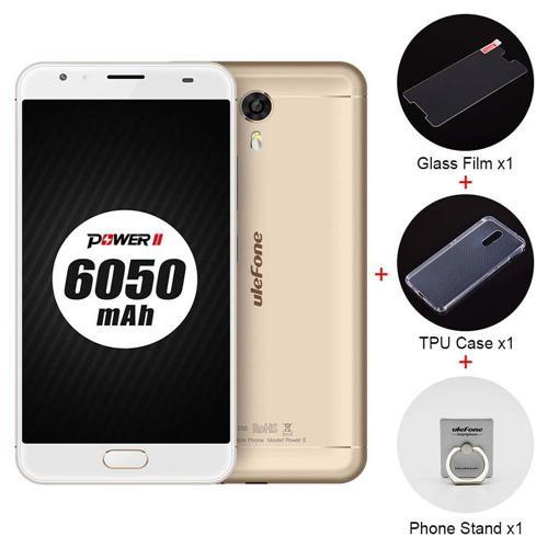 Ulefone Power 2 5.5 Inch 4GB 64GB Smartphone - Gold