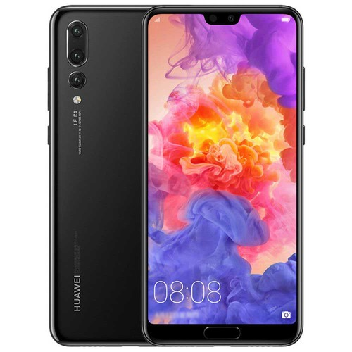 HUAWEI P20 Pro 6.1 Inch Smartphone FHD+ Screen Kirin 970 6GB 128GB 20.0MP+40.0MP+8.0MP Three Rear Cameras Android 8.1 - Jet Black