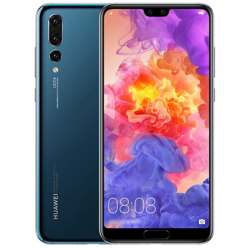 HUAWEI P20 Pro 6.1 Inch Smartphone FHD+ Screen Kirin 970 6GB 64GB 20.0MP+40.0MP+8.0MP Three Rear Cameras Android 8.1 - Jewelry Blue