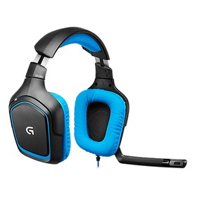 Logitech G430 Surround Sound Wired Gaming Headphone Folding Noise Canceling Headset – Blue (50 uni) 11Dec