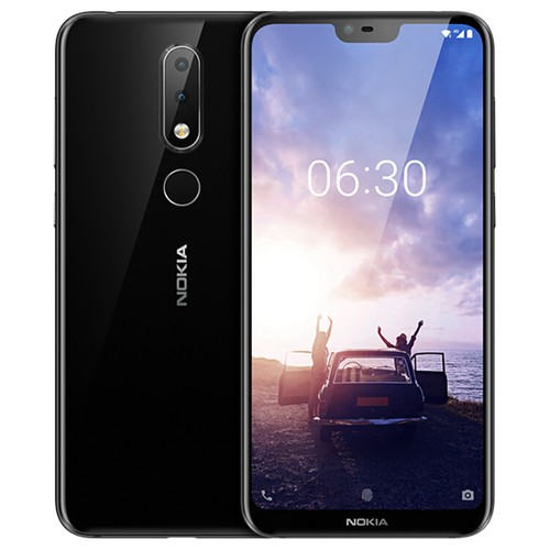 Global ROM NOKIA X6 5.8 Inch 6GB 64GB Smartphone Black