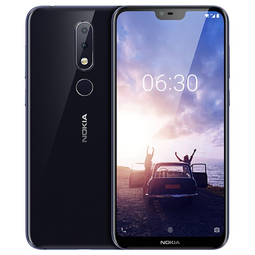 Global ROM NOKIA X6 5.8 Inch 6GB 64GB Smartphone Blue