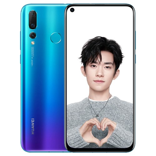 HUAWEI Nova 4 6.4 Inch 8GB 128GB 48.0MP Camera Smartphone Blue