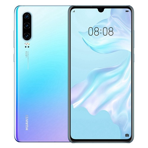 HUAWEI P30 6.1 Inch 4G LTE Smartphone Kirin 980 8GB 256GB 40.0MP+16.0MP+8.0MP Triple Rear Cameras Android 9.0 NFC In-display Fingerprint Fast Charge - Breathing Crystal