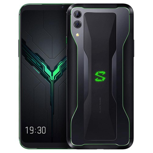 Xiaomi Black Shark 2 6.39 Inch 4G LTE Gaming Smartphone Snapdragon 855 8GB 128GB 48.0MP+12.0MP Dual Rear Cameras Android 8.1 In-display Fingerprint Quick Charging Global Version - Black