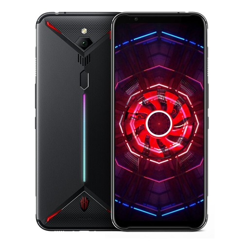 Nubia Red Magic 3 6.65 Inch 4G LTE Gaming Smartphone Snapdragon 855 6GB 128GB 48.0MP Rear Camera Android 9 Touch ID Fast Charge - Black