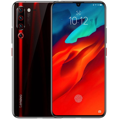 Lenovo Z6 Pro 6.39 Inch 4G LTE Smartphone Snapdragon 855 6GB 128GB 48.0MP+16.0MP+8.0MP+2.0MP Quad Rear Cameras ZUI 11 In-display Fingerprint - Black