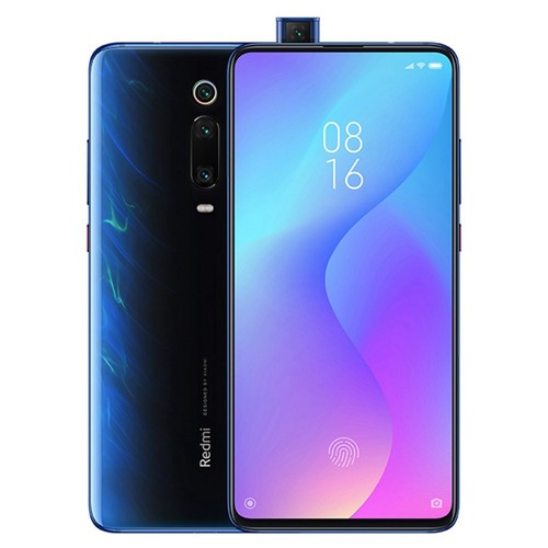 Xiaomi Redmi K20 Pro 6.39 Inch 4G LTE Smartphone Snapdragon 855 8GB 128GB 48.0MP+8.0MP+13.0MP Triple Rear Cameras MIUI 10 In-display Fingerprint Fast Charge NFC - Blue