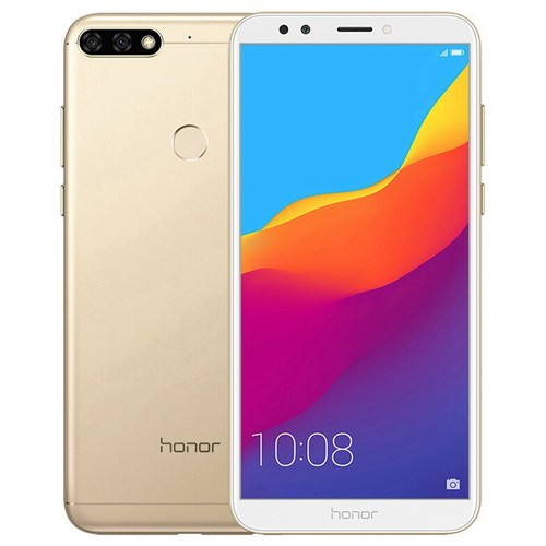 Huawei Honor 7C 5.99 Inch 4G LTE Smartphone Snapdragon 450 4GB 64GB 13.0MP+2.0MP Dual Rear Cameras Android 8.0 Touch ID Global ROM - Gold