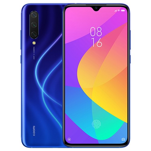 Xiaomi Mi 9 Lite 6.39 Inch 4G LTE Smartphone Snapdragon 710 6GB 128GB 48.0MP+8.0MP+2.0MP Triple Rear Cameras Fingerprint ID Dual SIM MIUI 10 Global Version - Blue
