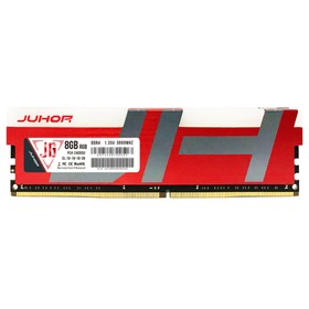 Juhor Ddr4 8Gb 3000Mhz 1.35V 288 Pin Ram Desktop Memory Module With Rgb (50 uni) 2Dec