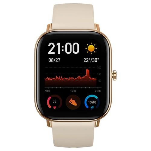 AMAZFIT GTS Smartwatch 1.65 Inch Retina Display 5ATM Water Resistant GPS Global Version - Gloden