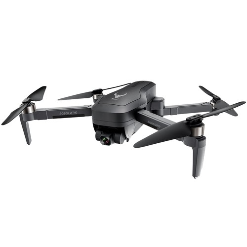 ZLL SG906 Pro 2 4K GPS 5G WIFI FPV With 3-Axis Gimbal Optical Flow Positioning Brushless RC Drone Black - One Battery with Bag