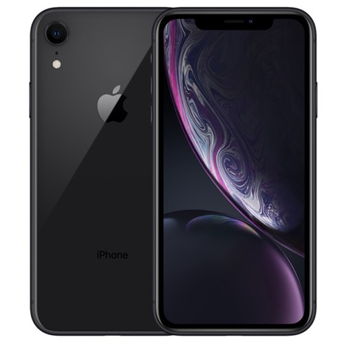 """Apple iPhone XR 128GB Black 6.1"""" LCD Display, Face ID - Used (Item Condition - 99% New)"""