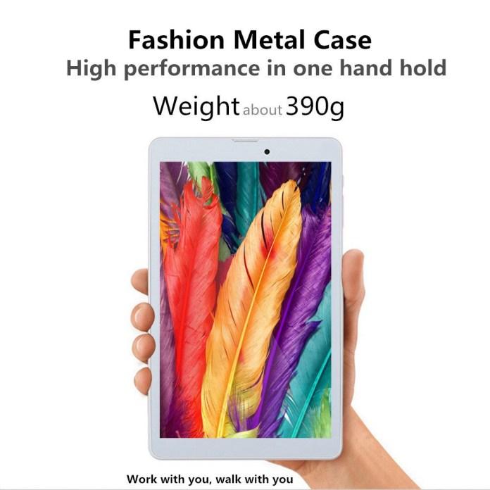 "Binai G808 Pro 4G Phablet MTK6753 Octa Core 8"" IPS Screen 1920*1200 Android 7.0 3GB DDR3 32GB eMMC - Gold"