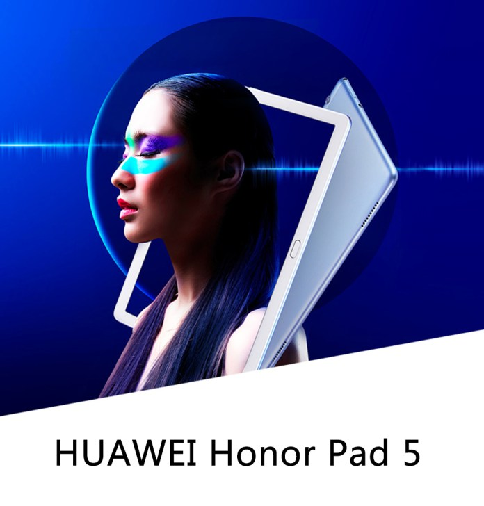 "HUAWEI Honor Pad 5 WIFI Tablet PC Hisilicon Kirin 659 Octa Core GPU Turbo 10.1"" IPS Screen 1920*1200 EMUI 8.0 3GB RAM 32GB ROM Built-in GPS - Grey"