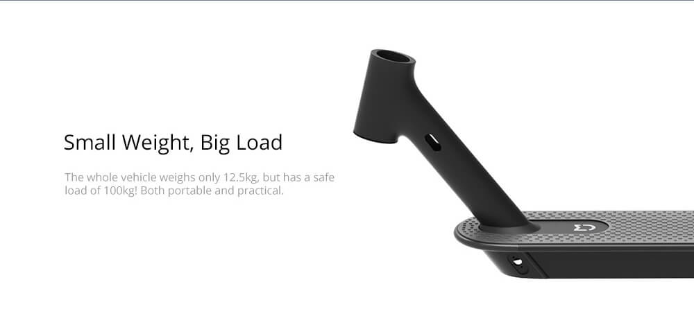 Xiaomi Mijia Electric Scooter 1S Folding Electric Scooter 8.5 Inch Tire 250W Brushless Motor Up To 30km Range Max speed 25km/h Smart Display Dual Brake CN Version - Black