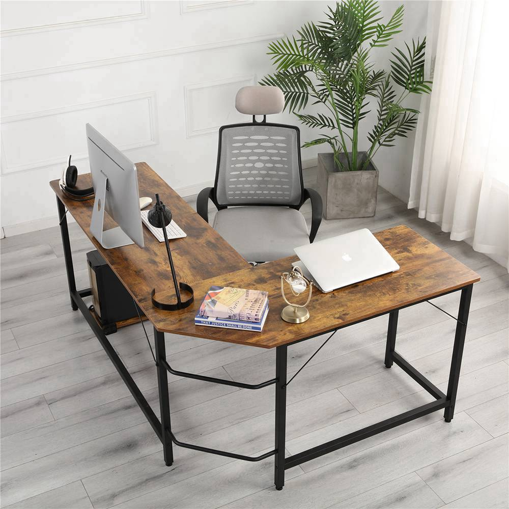 new home office l shaped combination