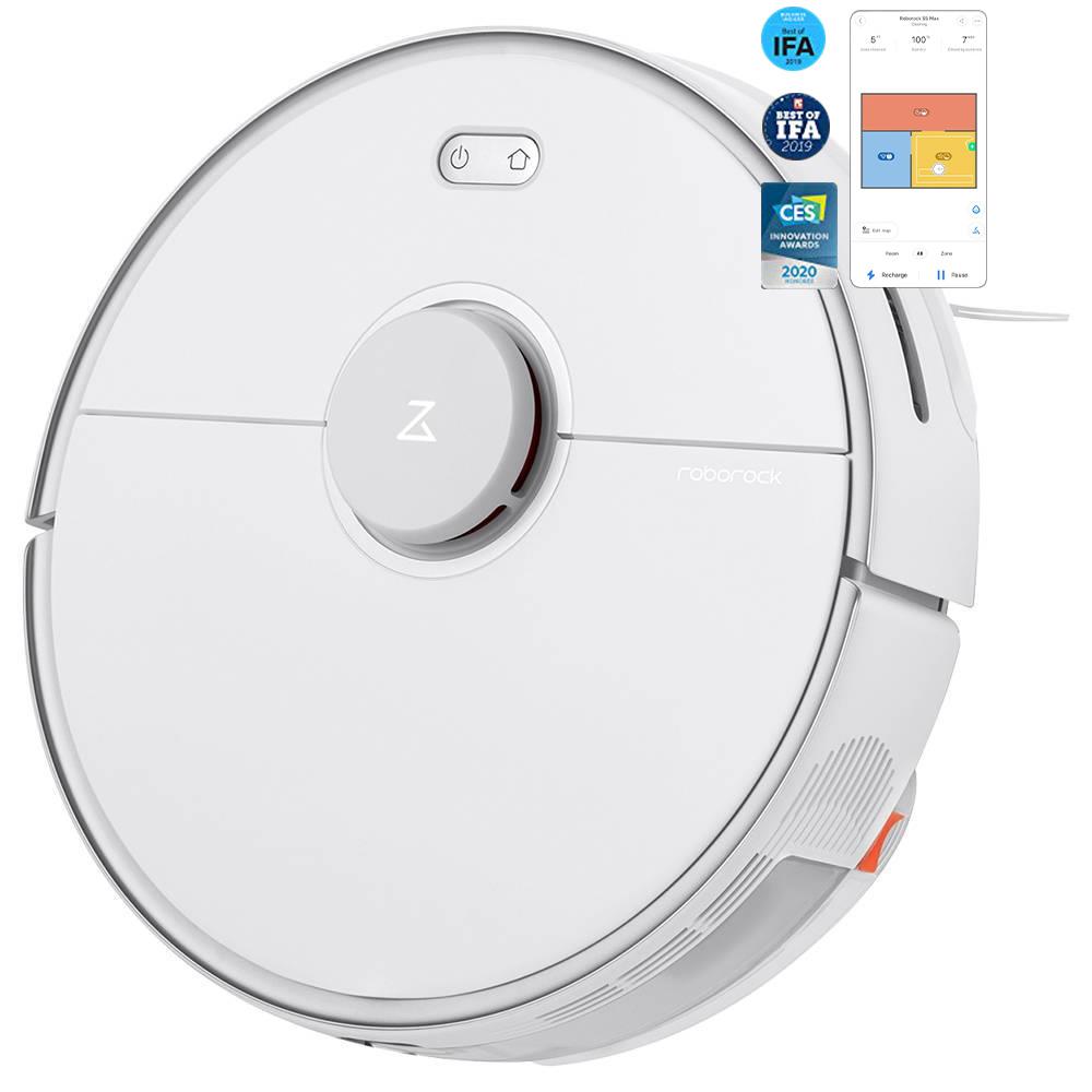 roborock s5 max robot vacuum cleaner international version white 1584951748299