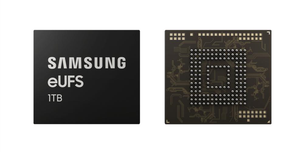 Memorias 1TB Samsung eUFS 2.1