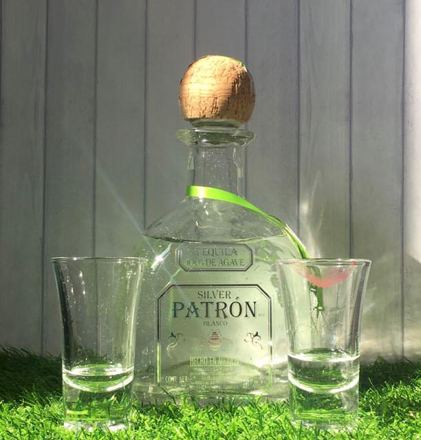 【 PATRON SILVER TEQUILA】綠色包裝龍舌蘭 | BLANCO PATRON