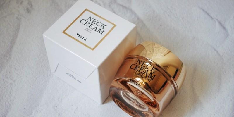 VELLA Neck Cream Review 》韓國 VELLA 頸霜使用心得
