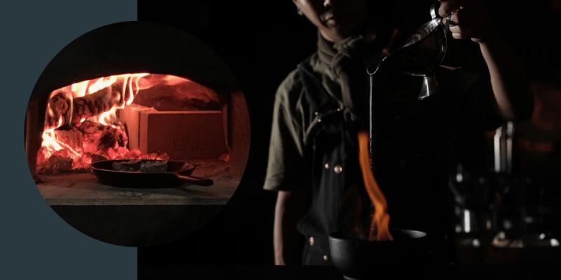 FirePlay Taipei 》 炭燒柴燒料理都難不倒新加坡籍主廚 Nick