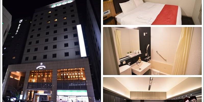 [九州博多車站住宿] 博多公園飯店Green Hotel Annex,離博多車站1分鐘,樓下就有便利商店,近電器行、百貨