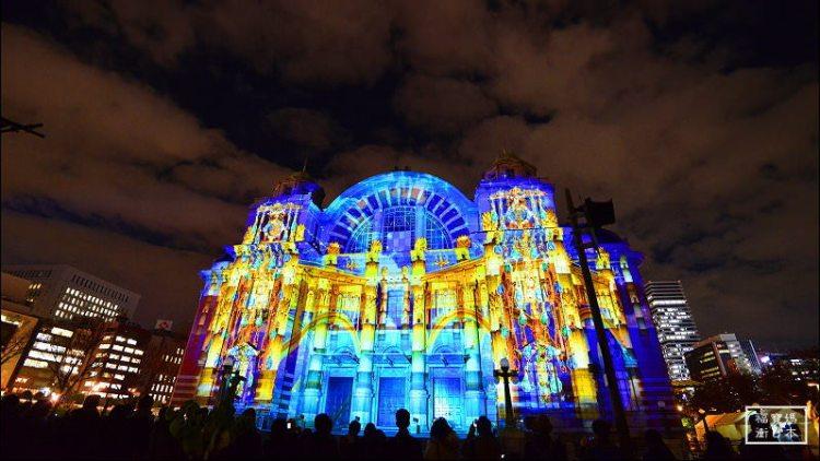 大阪聖誕燈火   大阪光之饗宴,最精采的大阪光之文藝復興+御堂筋彩燈 全記錄資訊分享