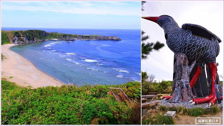 沖繩北部景點   山原秧雞展望台(ヤンバルクイナ展望台),欣賞邊戶岬最佳地點