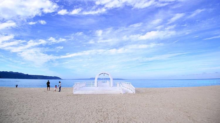 沖繩海景飯店 | Okuma私人海灘&度假村 (Okuma Private Beach & Resort).看著夕陽從古宇利島落下,最適合親子入住的北部海景飯店